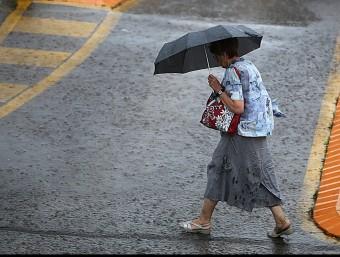 Les pluges d'aquest diumenge no han causat incidències destacables EN LES PRÒXIMES HORES ENCARA S'ESPEREN RUIXATS AL NORD-EST DEL PAÍS, TOT I QUE SERAN MÉS FEBLES MANEL LLADÓ
