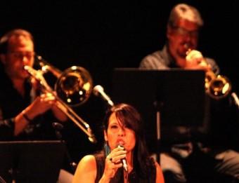 Actuació de la Girona Jazz Project, amb l'espectacle 'Fa Puntí', on es versionen temes d'Adrià Puntí JOAN SABATER
