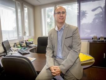 Rafel Peris va assumir la presidència de l'associació ara fa tres anys.  ALBERT SALAMÉ