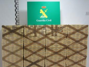 El material comissat per la Guàrdia Civil G.C