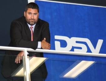 Iban Mas és el director general de DSV Air & Sea per a la península Ibèrica.  FRANCESC MUÑOZ