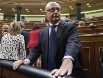 Montoro ha reconegut el fracàs d'una iniciativa seva.  EFE