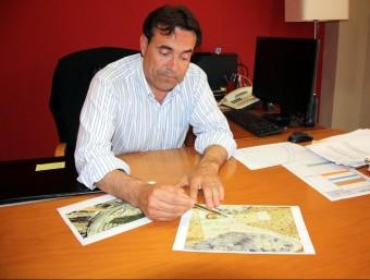 Josep Ibarz (CiU) alcalde d'Almacelles ACN
