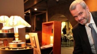 Laurent Mannoni, comissari de l'exposició 'Georges Méliès', ahir a la inauguració J. SABATER
