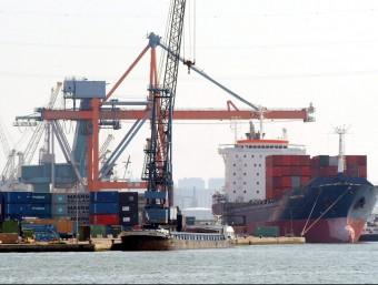 Les exportacions també expliquen el fort creixement dels Països Catalans.  ARXIU