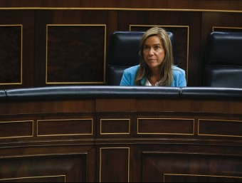 La ministra de Sanitat Ana Mato durantla seva compateixença al Congrés EFE