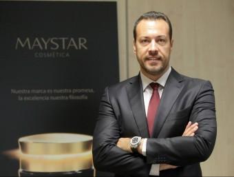 Dennis Bonán és el director de Maystar i la cara visible del procés internacionalitzador de la companyia.  JUDIT FERNANDEZ