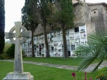 El cementiri de Mieres ahir a la tarda RAMON ESTEBAN