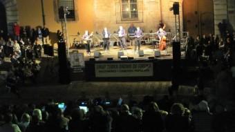 El grup Terra Endins durant l'actuació de l'any passat a les Fires DANI VILÀ