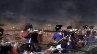 Imatge d'una escena del film 'Barcelona 1714' després d'haver incorporat les imatges en 3D FXA
