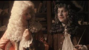 Josep Julien (a la dreta, amb perruca fosca) interpreta Vicenç, un ric adroguer ACTEON