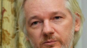 Julian Assange l'agost passat a l'ambaixada d'Equador de Londres JOHN STILLWELL / REUTERS