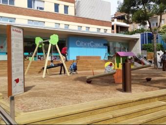 Imatge del parc del Patufet que Happyludic ha instal·lat a l'hospital de Sant Joan de Deu.  ARXIU / HAPPYLUDIC