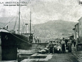 Port de Soller, 19th century. Archive