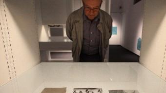 L'exposició de documents a la Casa de Cultura LLUÍS SERRAT