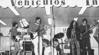 Swing Sec, a les Fires de Girona del 1986 ARXIU PAU MARQUÈS
