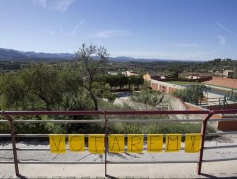 Els veïns d'Horta volen votar al municipi, no a 22 quilòmetres. JOSÉ CARLOS LEÓN