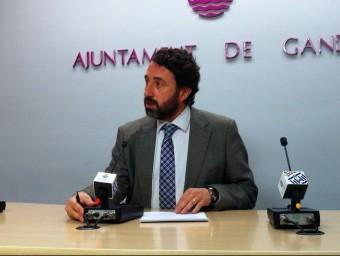 Vicent Mascarell en conferència de premsa. EL PUNT AVUI