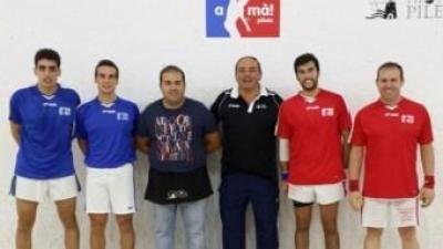 Equips de pilota valenciana que disputaran la final. A MÀ PILOTA