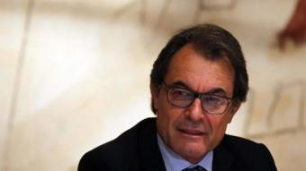 El president de la Generalitat, Artur Mas, a la reunió del consell executiu EFE