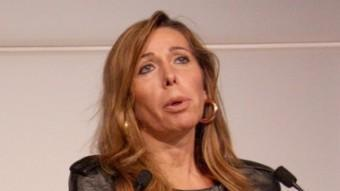 La presidenta del PP de Catalunya, Alícia Sánchez-Camacho, aquest dimarts al Parlament ACN