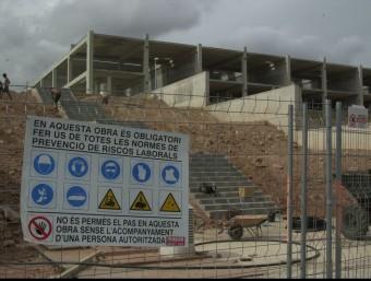 La prevenció de riscos laborals és una activitat que cada vegada se segueix més a l'empresa catalana.  ARXIU /LLUÍS SERRAT