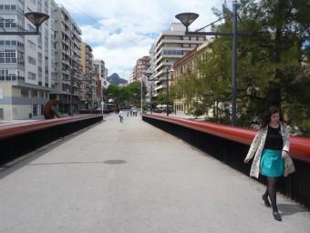 Pont de l'inici de l'avinguda de l'Albereda. ESCORCOLL