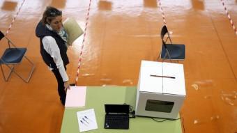 Tot preparat per la votació d'avui A. GEA / REUTERS