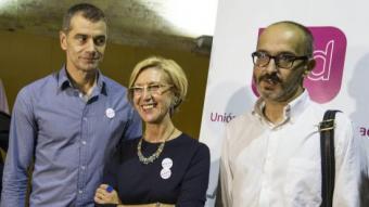 Toni Cantó, Rosa Díez i Toni Collado d'UPyD ARXIU