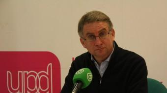 El portaveu de UPD a Catalunya, Ramon de Veciana ACN