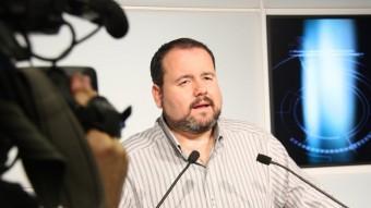 El portaveu adjunt dels ecosocialistes al Parlament, Joan Mena ACN