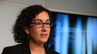 La secretària general d'ERC, Marta Rovira, al Parlament ACN