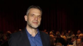 Claudio Zulian ahir al Born Centre Cultural, just abans de la projecció per als subscriptors d'El Punt Avui ORIOL DURAN