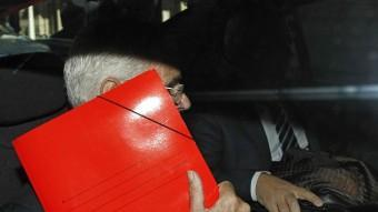 El fiscal Superior de Catalunya , José maria Romero de Tejada, ahir a Barcelona MARTA PEREZ/EFE