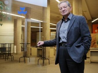 Domènec Morera, fotografiat la setmana passada a la Llotja de Contractació de Girona. MANEL LLADÓ