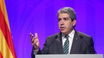 Francesc Homs, conseller de Presidència i portaveu del govern