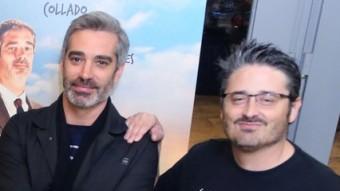 Actors i director, a l'estrena gironina MANEL LLADÓ
