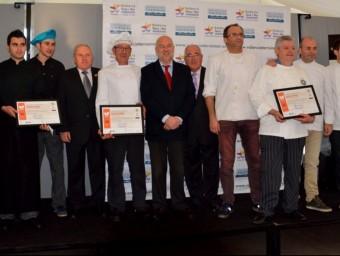 Participants en aquest concurs gastronòmic. B. SILVESTRE