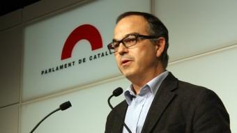 El portaveu de CiU al Parlament, Jordi Turull ACN