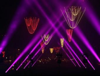 A Barcelona el Nadal lumínic va començar el 21 de novembre.  JUANMA RAMOS
