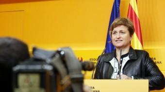 La portaveu d'ERC, Anna Simó ANDREU PUIG