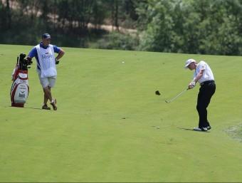 Una imatge de l'Open d'Espanya celebrat el passat mes de maig al PGA Catalunya Resort de Caldes de Malavella. LLUÍS SERRAT