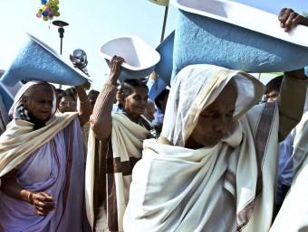 L'Índia ha aconseguit grans èxits en l'OMC gràcies a la pressió diplomàtica.  ARXIU / AFP