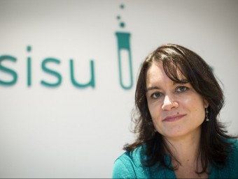 La fundadora i directora de Sisu Labs, Jennifer Woodard.  ALBERT SALAMÉ