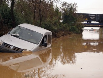 Conseqüències del temporal a Figueres MANEL LLADÓ