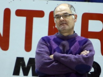 Manel Barceló, el tècnic del Lloret MANEL LLADÓ