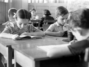 Jaume Serra Hunter va ser clau per la renovació pedagògica de 'l'escola nova'.  ARXIU