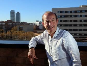 Jaume Sampera presideix el grup que va fundar e l 2001.  QUIM PUIG