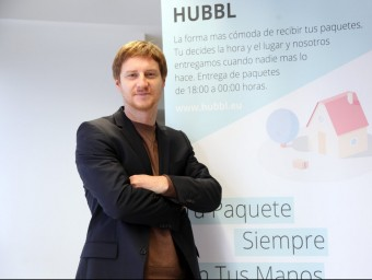 L'alemany Marius Kerbalek va idear Hubbl ara fa un any i tot just l'acaba de posar en marxa.  ELISABETH MAGRE