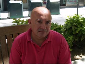 Joan Francesc Peris representa El Verds de Gandia. ESCORCOLL